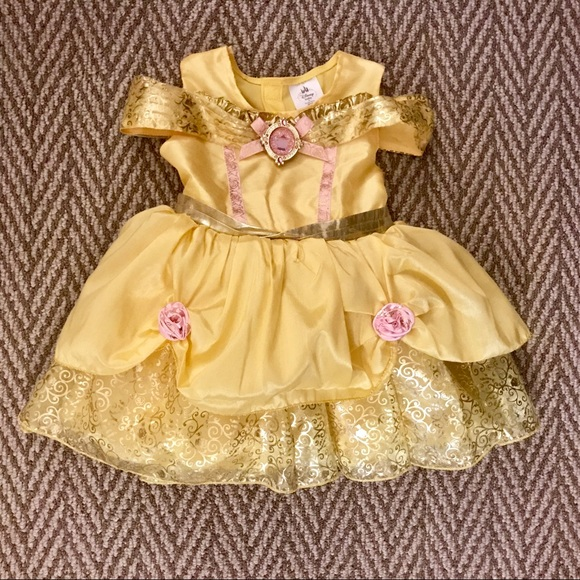 e4a4ea51addb36 Disney Other - Disney Baby   Disney Store Belle costume